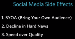 Social Media Side Effect